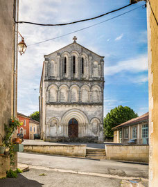 L'Eguillac de Cercles - Eglise Dordogne Périgord vert France / 320 Mpix - Tirage 1,6 m x 1,4 m à 300 dpi