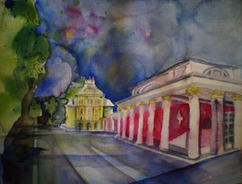 Bad Ischl Aquarell ©
