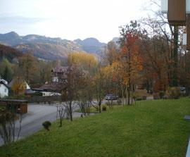 Bad Ischl Appartement Miramonte - Aussicht - Ferienwohnung