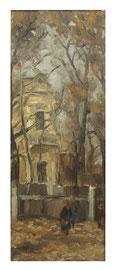 Dacha Tolbukhina  / Datscha Tolbukhina   50x17,5cm  1981