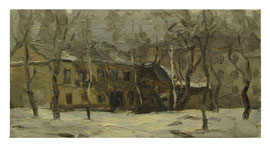 Winter yard  /  Winterhof    27x50cm  1981
