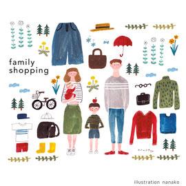 2017 Famiry shopping オリジナル