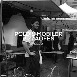 Poldis mobiler Pizzaofen - Pizza