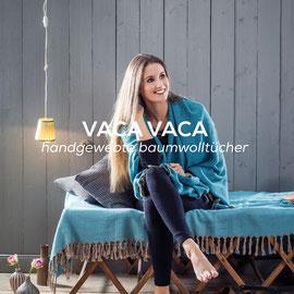 VACA VACA - Handgewebte Baumwolltücher