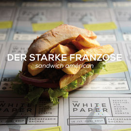 Der Starke Franzose - Sandwich Américan
