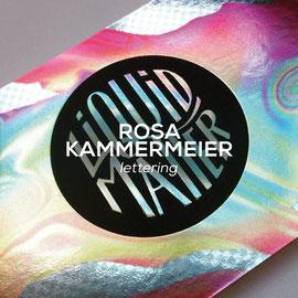 Rosa Kammermeier - Lettering