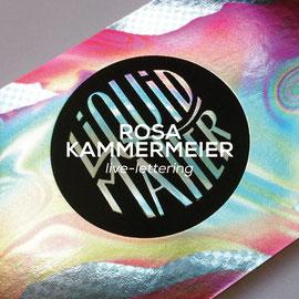 Rosa Kammermeier - Live-Lettering