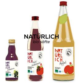 NATÜRLICH - Bio Säfte