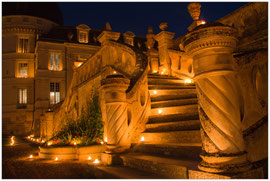 Valencay, le grand escalier  - Marie-Jo