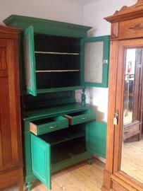 gebrauchter Küchenschrank von Nouvelle-Antique, ideal zum Anstreichen mit Kreidefarbe