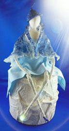 Nr. 1 /   H35 x B15  blaue Dame     CHF  150