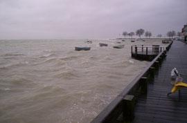 Des grandes marées parfois houleuses...à saint valery sur somme © Découvrons la Baie de Somme