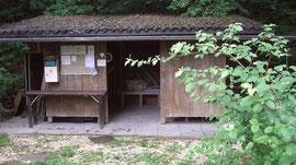 Umkleide-Hütte