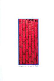 """""""Millenium A 1/1"""" / """" Werkverzeichnis 2.567 / datiert 31.12.99 / PC-Zeichnung als Tintenstrahldruck auf Papier / Maße b 21,0 cm * h 29,7 cm"""