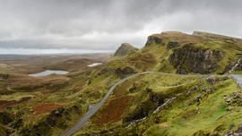 the Quiraing, Isle of Skye