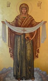 Образ Покрова Богородицы.
