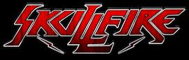 SKULLFIRE Schriftzug (Hintergrund durchsichtig)