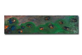 "Thomas Girbl ""burningdiscovery-3334"" 50x200cm 2013"