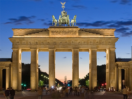 Brandenburger Tor Originalfoto