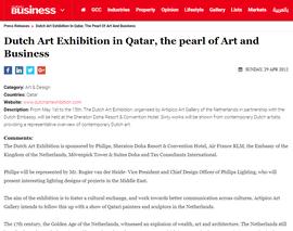 April 2012 Holland Art Expo Doha, Qatar in Sheraton Hotel