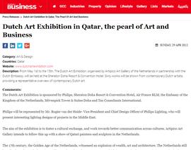 April 2012 Holland Art Expo Doha, Qatar in Sheraton Hotel