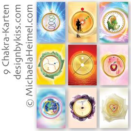 Chakrakarten … designbykiss