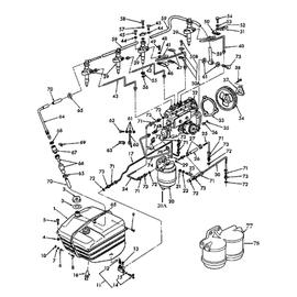 Tanque para combustible y sus componentes