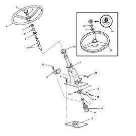 Mecanismo de dirección hidrostática