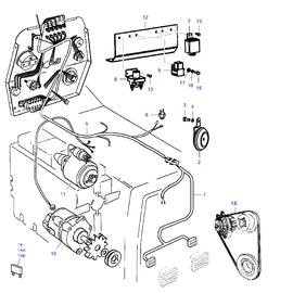 Instalación eléctrica y sus componentes.