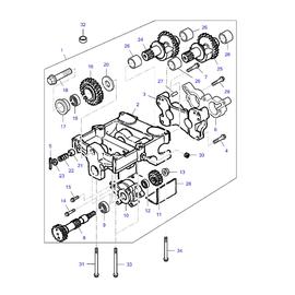 Caja de compensadores y sus componentes.