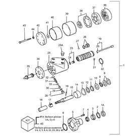 Hidromotor Orbit TRW y sus componentes