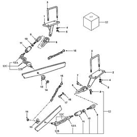 Cadenas estabilizadoras y sus componentes