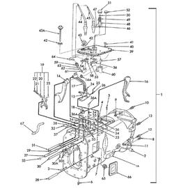 Palancas de velocidades y sus componentes