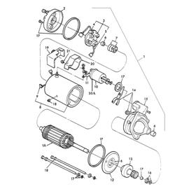 Motor de arranque y sus componentes