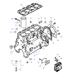 Monoblock Simpson y sus componentes