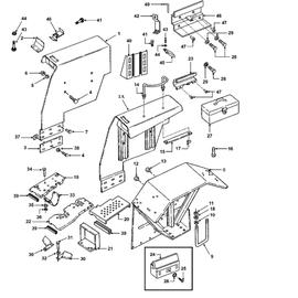 Salpicaderas y sus componentes