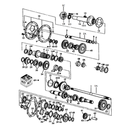Transmisión de 8 velocidades y sus componentes