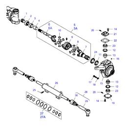 Suspension delantera FWD y sus componentes.