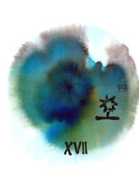 deconstructive tarot | XVII the star | 21 x 29,5 cm | aquarell and ink on paper | 2017 | (c) Lilian Wieser