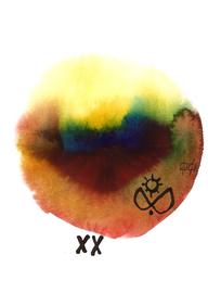 deconstructive tarot | XX judgement | 21 x 29,5 cm | aquarell and ink on paper | 2017 | (c) Lilian Wieser