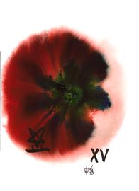 deconstructive tarot | XV the devil | 21 x 29,5 cm | aquarell and ink on paper | 2017 | (c) Lilian Wieser