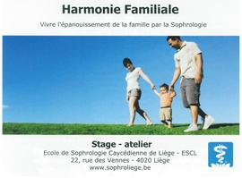 Développer l'harmonie en famille avec l'école de Sophrologie de Liège
