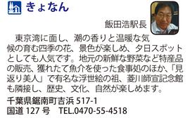 道の駅「きょなん」 千葉県鋸南町
