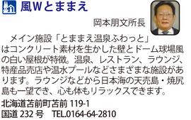 道の駅「風Wとままえ」 北海道苫前町