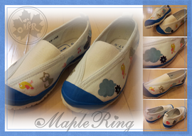 MapleRing 上靴デコパージュ