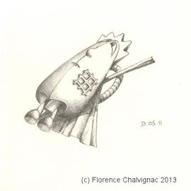 Camisole défensive, Florence AZAMBOURG CHALVIGNAC 2013 Tous droits réservés