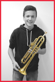 Gaëtan Gaudard, Trompette