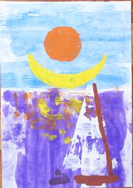sole, luna, vela
