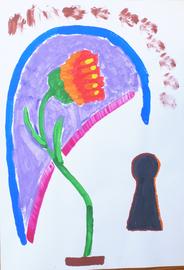 fiore alla porta