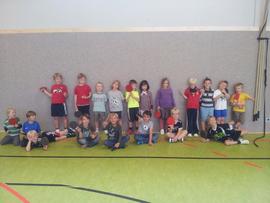 Die Tischtennis-AG der Max-von-Gagern-Schule